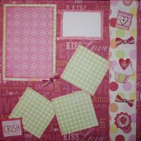 T2S - 61446 12x12 Page Kit- Crush On You