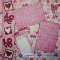 T2S - 61449 12x12 Page Kit- Love