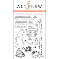 AlteNew - Clear Stamp Set - Birch Land