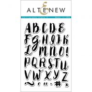 AlteNew - Clear Stamp Set - Calligraphy Alpha Uppercase