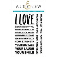 AlteNew - Clear Stamp Set - Everything About You