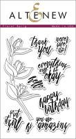 AlteNew - Clear Stamp Set - Floral Sprig