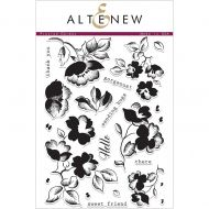 AlteNew - Clear Stamp Set - Frosted Garden