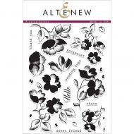 AlteNew - Clear Stamp Set - Frosted Garden