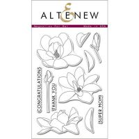 AlteNew - Clear Stamp Set - Magnolias for Her