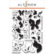 AlteNew - Clear Stamp Set - Painted Butterflies
