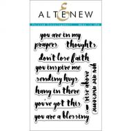 AlteNew - Clear Stamp Set - Painted Encouragement