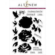 AlteNew - Clear Stamp Set - Painted Rose