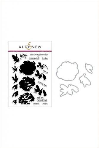 AlteNew - Stamp/Die Bundle - Painted Rose