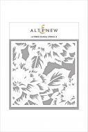 AlteNew - Stencil - Dahlia B