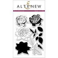 AlteNew - Clear Stamp Set - Bold Blossom