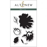 AlteNew - Clear Stamp Set - Vintage Daisy