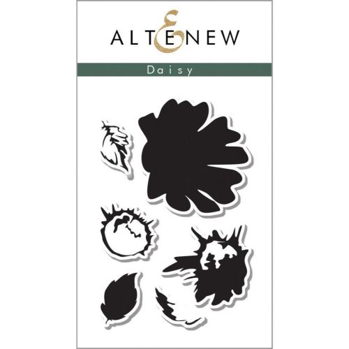AlteNew - Clear Stamp Set - Vintage Daisy