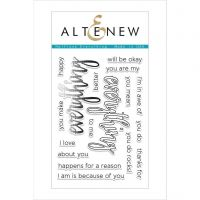 AlteNew - Clear Stamp Set - Halftone Everything