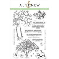 Altenew - Clear Stamp Set - Moment In Time