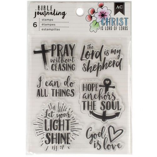 American Crafts - Bible Journal Stamps - God Is Love