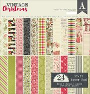 Authentique - 12x12 Classic Christmas - Designer Patterned Paper