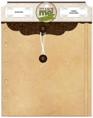 BoBunny - Misc Me! Envelopes - Kraft