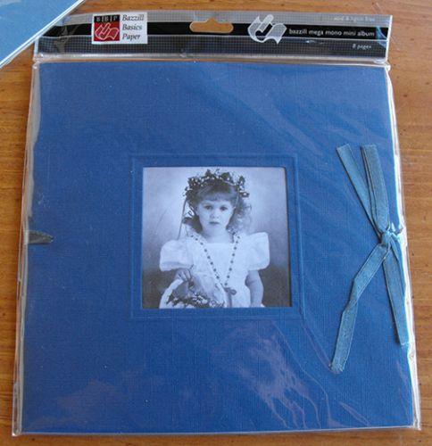 Bazzill Basics - 8x8 Mega Mono Mini Album - Jacaranda