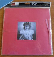 Bazzill Basics - 8x8 Mega Mono Mini Album -Pink