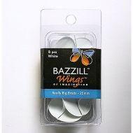 Bazzill Basics - Really Big Brads, 25mm - White