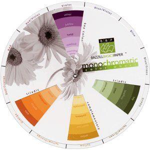 Bazzill Monochromatic Color Wheel