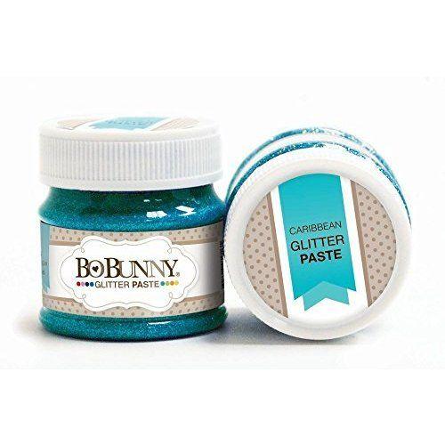 BoBunny - Double Dot Collection - Glitter Paste - Caribbean