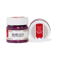 BoBunny - Double Dot Collection - Glitter Paste - Ruby Red
