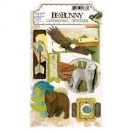 BoBunny - 3D Dimentional Stickers - Trail Mix