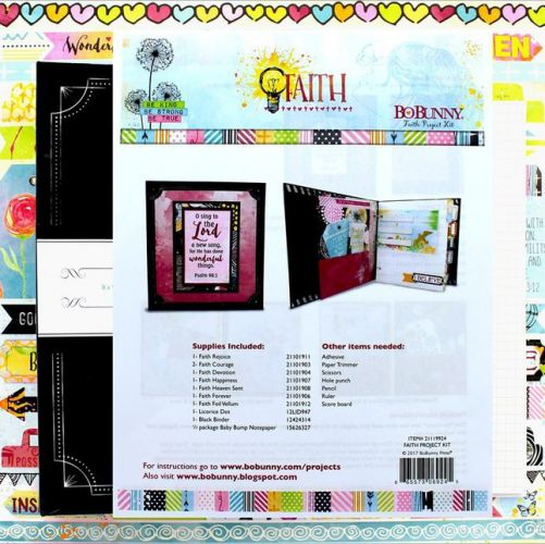 BoBunny - Collection Project Kit - Faith