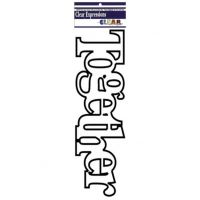 Clear Scraps - Word Shapes - Together