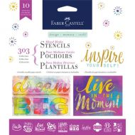 FaberCastell - Mixed Media Stencils - Inspire