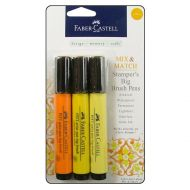 FaberCastell - Stamper's Big Brush Pen - Mix & Match Set - Yellow