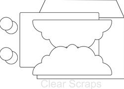 Clear Scraps - Send It Clear - Fancy