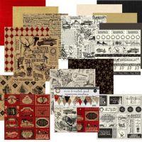 Canvas Corp - Mix & Match Pad - Farmhouse Christmas