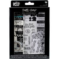 Illustrated Faith - Bible Journaling Kit - Faith/Fear