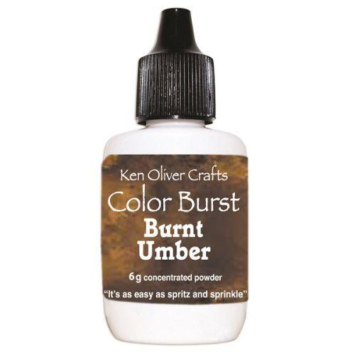 Ken Oliver - Color Burst Powder - Burnt Umber