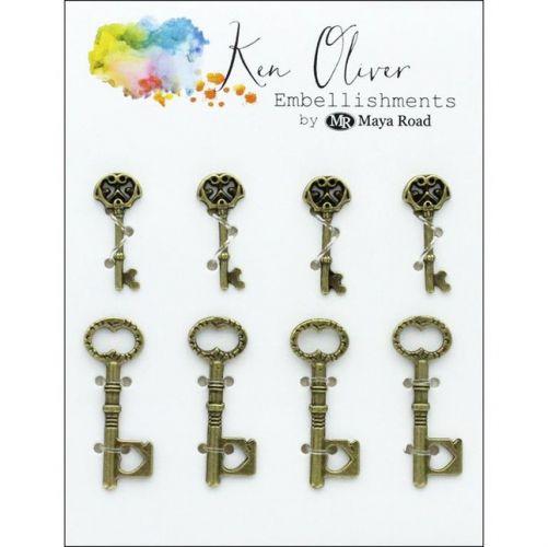 Ken Oliver - Maya Road - Vintage Charms Keys