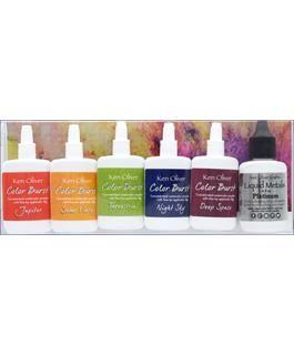 Ken Oliver - Multi Media products - Color Burst Set 6pc Galaxy