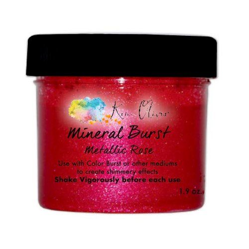 Ken Oliver - Mineral Burst Powder - Metallic Rose