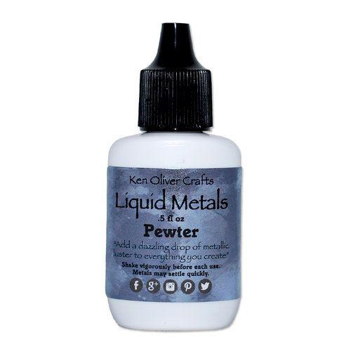 Ken Oliver - Liquid Metals - Pewter