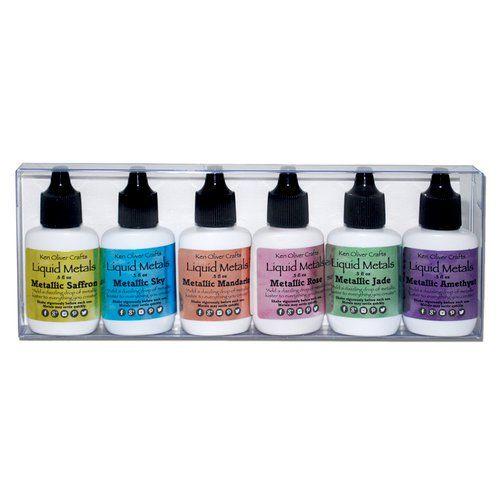 Ken Oliver - Color Burst Liquid Metal Assortment-precious Alloys