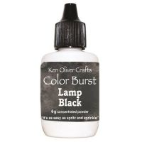 Ken Oliver - Color Burst Powder - Lamp Black