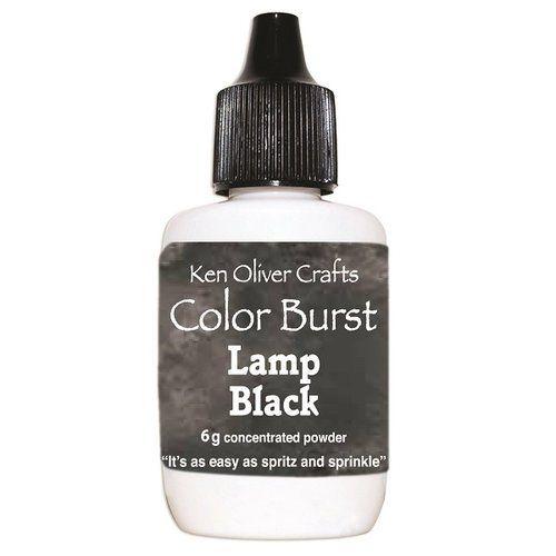 Ken Oliver - Color Burst Powder - Lamp Black