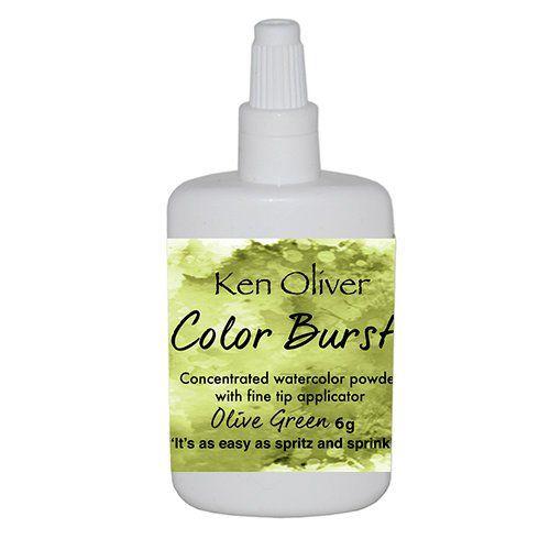 Ken Oliver - Color Burst Powder - Olive Green