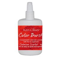 Ken Oliver - Color Burst Powder - Cadmium Scarlet