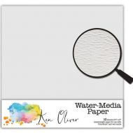 "Ken Oliver - Water-media Paper 6""x6"" 10 Sheets - Water Color Paper"