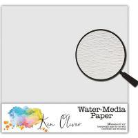"Ken Oliver - Water-media Paper 6""x6"" 10 Sheets - Water Color Paper"