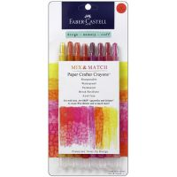 Fabercastell Paper Crafter Mix & Match Crayon Set - Red-Yellow