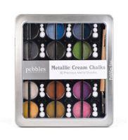 Pebbles - Cream Chalks - Precious Metals